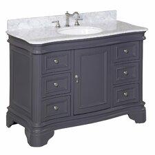 """Katherine 48"""" Single Bathroom Vanity Set"""