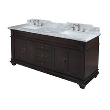 "Elizabeth 72"" Double Bathroom Vanity Set"