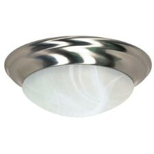Twist and Lock 3 Light Flush Mount