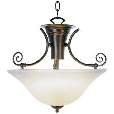 Wellington Lighting 1 Light Inverted Pendant