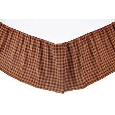 Check Bed Skirt