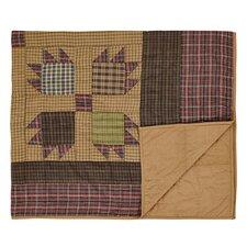 Canavar Ridge Quilted Cotton Throw Blanket