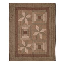 Bradley Quilted Cotton Throw Blanket