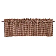 Patriotic Patch Plaid Curtain Valance