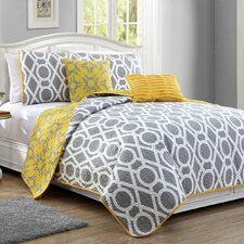 East Side 5 Piece Quilt Set