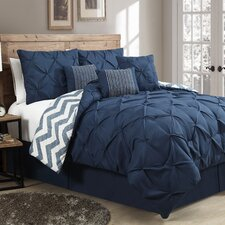 Ella 7 Piece Reversible Comforter Set
