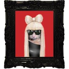 """Pets Rock™ """"GG"""" Framed Graphic Art"""