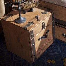 Pirate 2 Drawer Nightstand