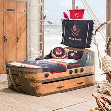 Pirate Armada Ship Twin Captain Bed