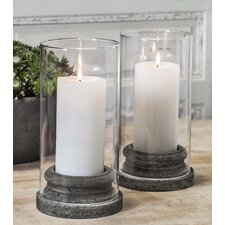 Classic Hurricane Candlestick (Set of 4)