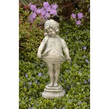 Shy Girl Statue