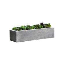 Garden Terrace Rectangular Planter Box