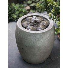 Camellia Cast Stone Garden Terrace Fountain