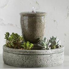 Garden Terrace Cast Stone Spa Fountain