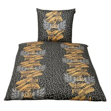 Bettwäsche-Set aus Baumwolle-Satin