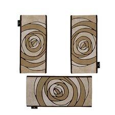 3-tlg. Teppich-Set Horizon in Beige