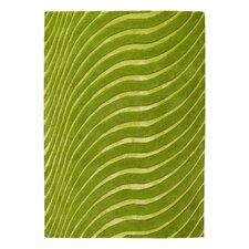 Teppich in Limettengrün