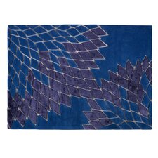 Teppich Jazz in Blau
