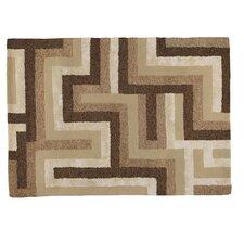 Teppich Juno in Beige / Braun