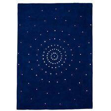 Teppich Skye in Blau