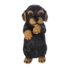 Tilman Brindle Puppy Statue