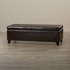 Griffey Leather Storage Ottoman