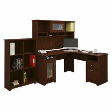 Capital 3 Piece L-Shaped Desk Office Suite