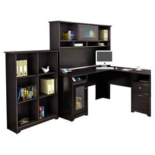 Capital 3 Piece L-Shaped Desk Office Suite