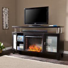 Yalobusha TV Stand with Electric Fireplace