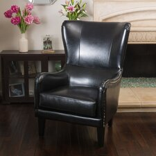 Full Sail High Back Wingback Chair