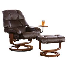 Beltway Ergonomic Recliner and Ottoman