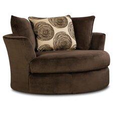 Transient Swivel Barrel Chair