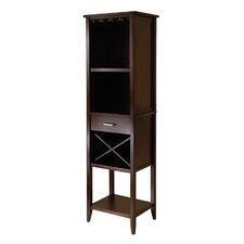 Renfroe 16 Bottle Floor Wine Cabinet