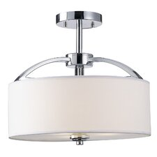 Epsom 3 Light Semi Flush Mount