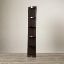 "Fuhrmann 76.75"" Corner Unit Bookcase"