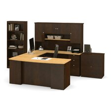 Independence 3-Piece U-Shaped Desk Office Suite