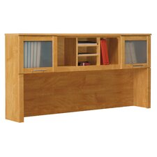 "Chateau Morrisette Winery 35.8"" H x  71"" W  Desk Hutch for L-Shape Desk"