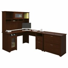 Capital 3 Piece L-Shape Executive Desk Office Suite