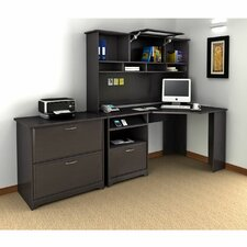 Capital 3-Piece L-Shape Desk Office Suite