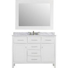 "Soldotna 48"" Single Vanity Set with Mirror"
