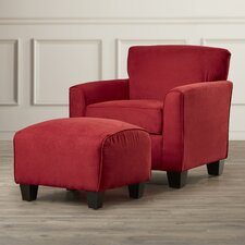 Great Northern Arm Chair and Ottoman
