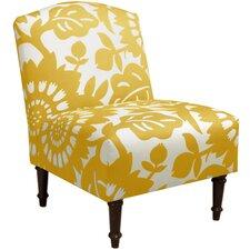 Tackett Camel Back Slipper Chair