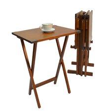 Fieldwork 5 Piece TV Tray Table Set