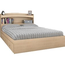 Brook Hollow Full Wood Storage Headboard