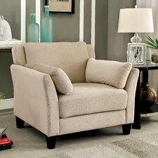 Chandeleur Contemporary Tufted Arm Chair