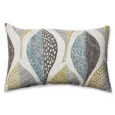 Hilldale Leaf Rain Cotton Lumbar Pillow
