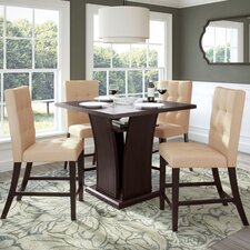 Troyer 5 Piece Counter Height Dining Set