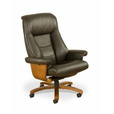 Thimble Island Top Grain Leather Recliner