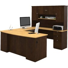 Independence Executive Desk with Hutch