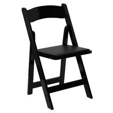 Alchemist Folding Chair with Padded Seat (Set of 2)